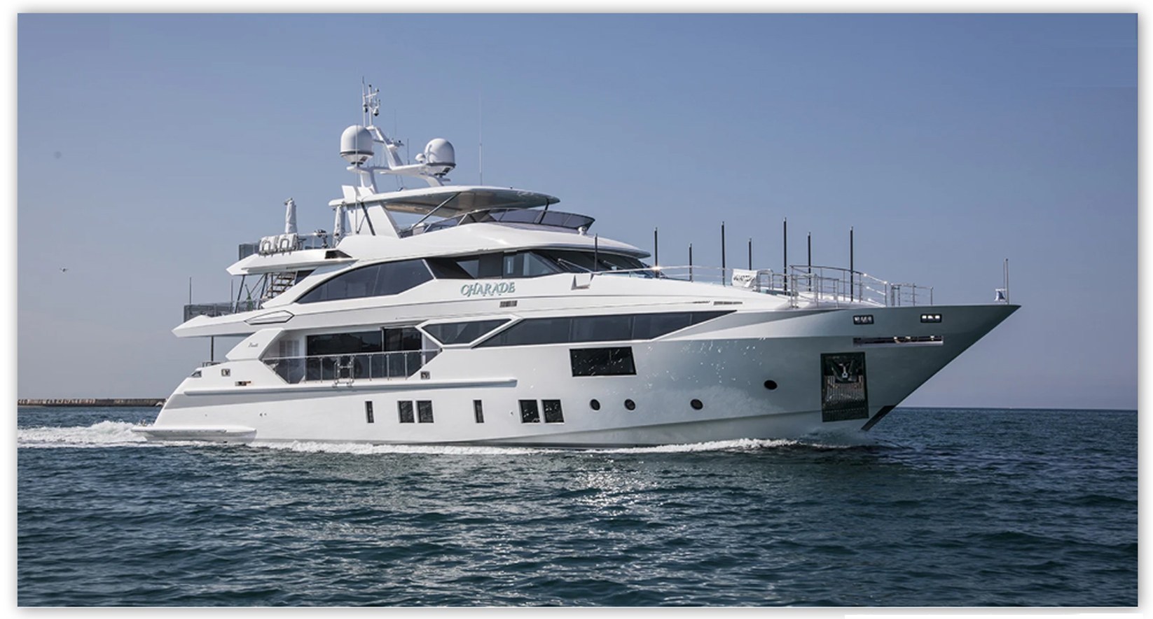 """New Delivery: M/Y """"Charade""""the sixth Fast 125' unit of Benetti Yachts"""